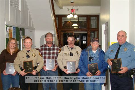 Box Laci Jeep Cj 7 chief deputy todd watson was honored with the citizenship