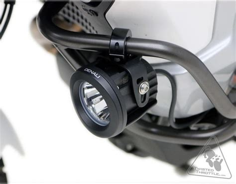 motorcycle highway bar led lights denali motorcycle engine guard crash bar auxiliary light