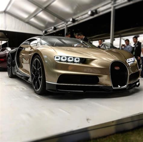 gold bugatti chiron bugatti chiron painted in gold black w exposed carbon