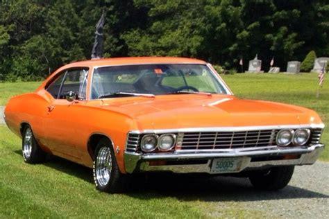 orange impala orange 1967 chevrolet impala for sale mcg marketplace