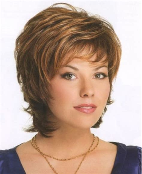 hair for over 50 heavy round face short hair on heavy women hairstyles for older women