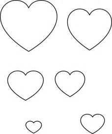 template for heart outline clipart best