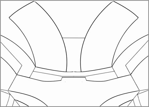 ironman helmet template 5 printable ironman mask template aruar templatesz234