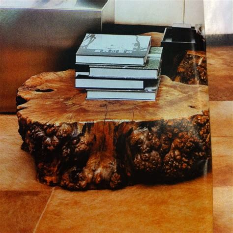solid tree trunk coffee table for the home