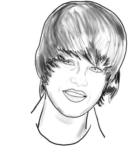 justin bieber cartoon coloring pages coloring pages