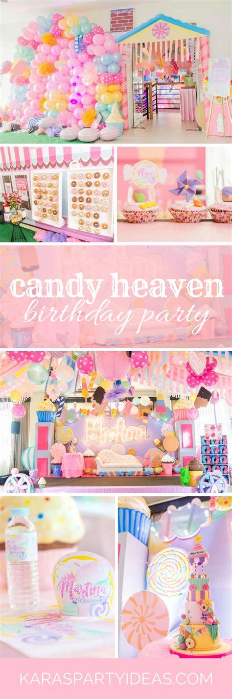 karas party ideas candy heaven birthday party karas party ideas
