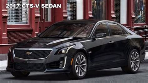 2017 Cadillac Sts V by 2017 Cadillac Cts V Sedan With Carbon Black Sport Package