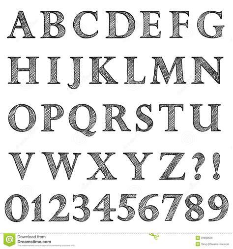doodle pen font free sketch pen fonts coloring pages