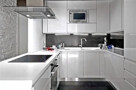 Black Island Kitchen black and white small kitchen ideas kitchen and decor