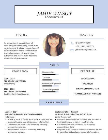 Real Simple Magazine by Modern Lilac Corporate Resume Templates By Canva