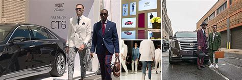 who is the fashion guy in the cadillac commercial cadillac new york fashion week men s