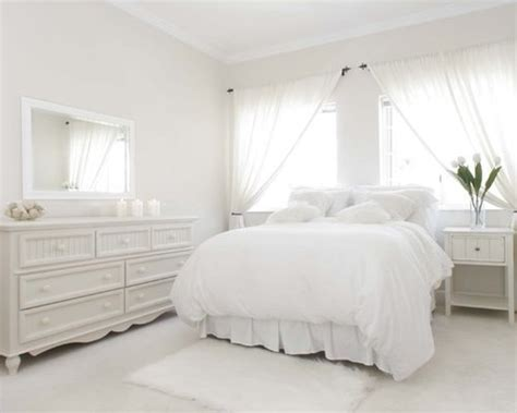 white bedroom home design ideas pictures remodel  decor