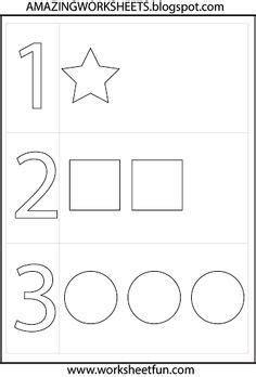 preschool worksheets 3 year olds color identification