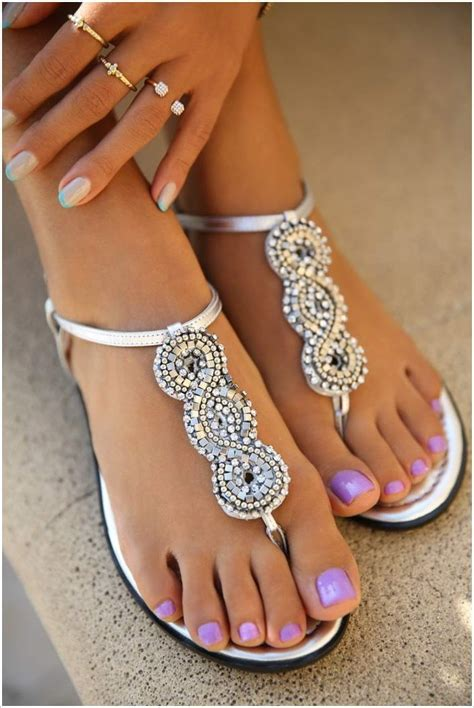 Pretty Heels For Summer by Show Your Style In These Stunning Beaded Sandals