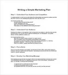 simple plan template simple marketing plan template 10 free word excel pdf