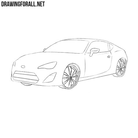How To Draw A Drawingforall by How To Draw A Subaru Brz Drawingforall Net