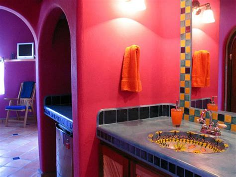 mexican bathroom decor 43 bright and colorful bathroom design ideas digsdigs