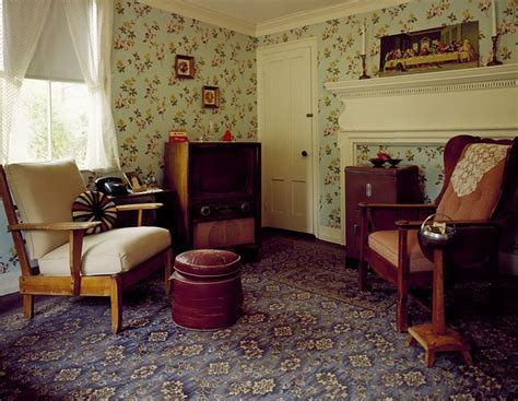 1950s living room 50s living room clowndeath library of congress wallpapers and libraries