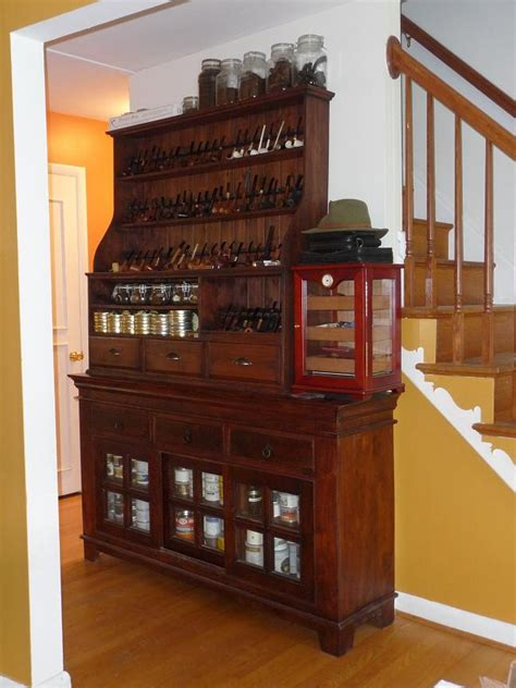 Pipe Cabinet by Two Cousins Pipe Rack July 2010