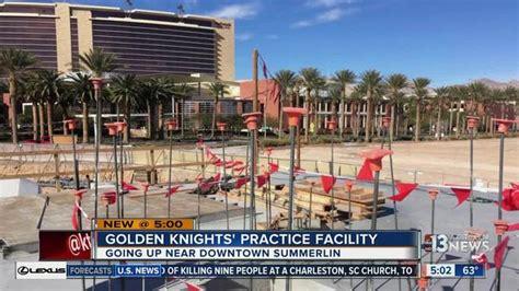 Progress made on Vegas Golden Knights practice facility