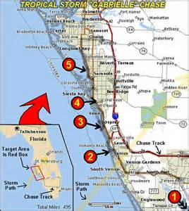 west florida map gabrielle interception