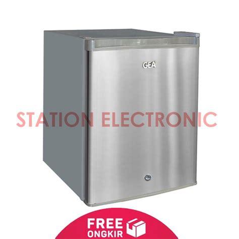 Gea Kulkas Mini Portabel Rs 06 Dr Silver jual gea kulkas 1 pintu portable mini bar rs 06dr