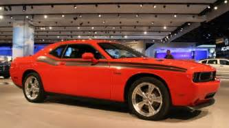 Dodge Challenger Rt Horsepower Detroit 2009 Dodge Challenger R T Classic Autoblog