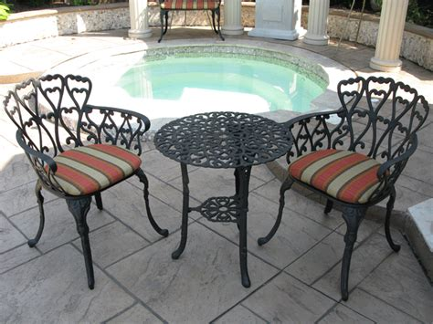 Black Cast Aluminum Patio Furniture cast aluminum table images cast aluminum patio furniture