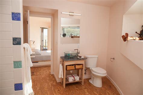 cork flooring in bathroom bathroom contemporary with