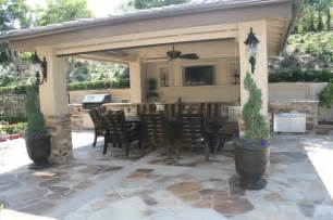 Outdoor Grill Island Patio Traditional With Metal Counter » New Home Design