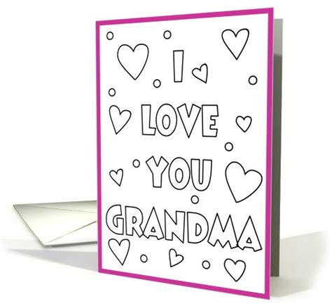 Printable Birthday Cards For Grandma | 4 best images of happy birthday grandma cards printable