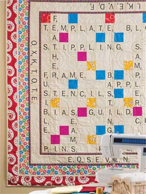 Scrabble Quilt by Quilt Scrabble Throw