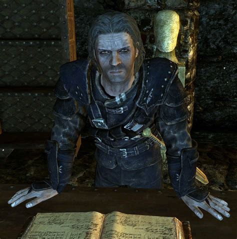 Mcgowan Is Self Absorbed by Mercer Frey Master Of The Thieves Guild Skyrim