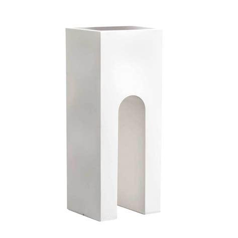 vasi in ceramica da esterno vasi bianchi rettangolari da esterno