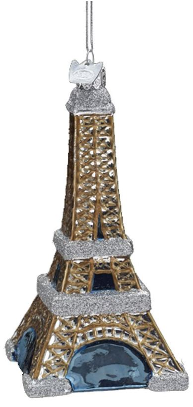 eiffel tower christmas tree ornament paris france