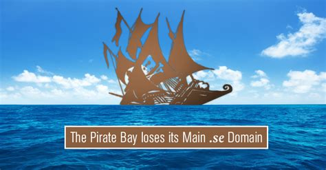 Pirate Bay by The Pirate Bay Loses Its Domain Name In Court Battle