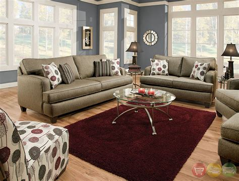 living room cushions arman contemporary pewter gray living room set with plush