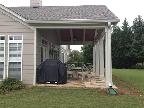 Nice Concrete Patio Covering Ideas : Best Covered Patio