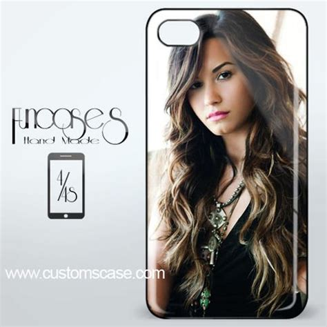 Demi Lovato Z2142 Iphone 4 4s by Beautiful Demi Lovato Iphone 4 Or 4s Cover From