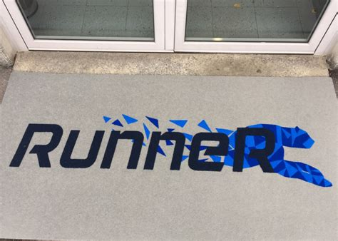 zerbino con logo zerbini personalizzati