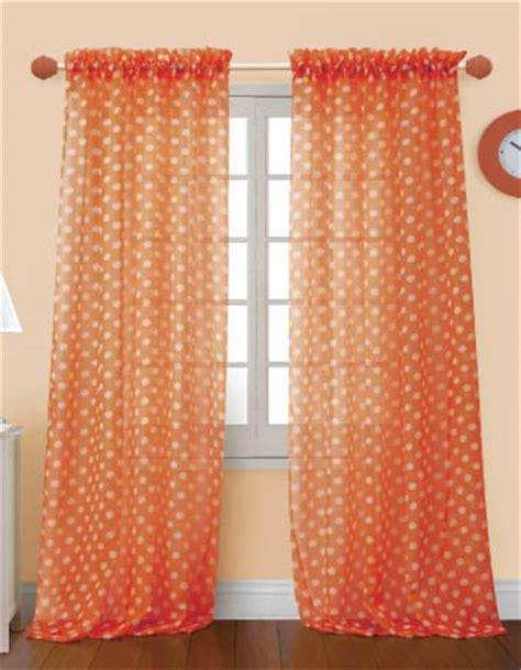 Orange Sheer Curtains 4 Styles Of Orange Sheer Curtains