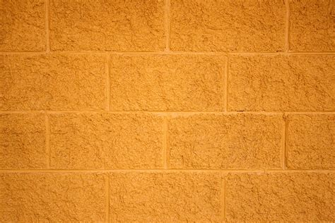 texture wall paint painted yellow cinder block wall texture picture free