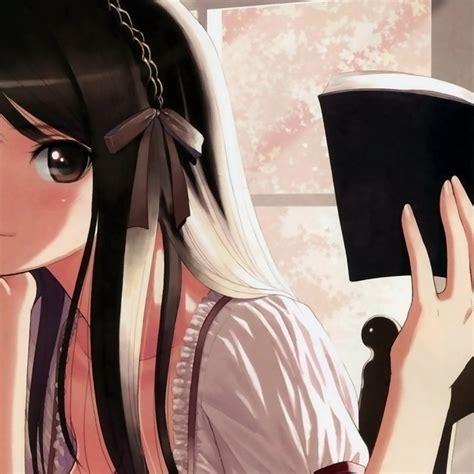 anime girl studying wallpaper 1024x1024 anime girl studying desktop pc and mac wallpaper