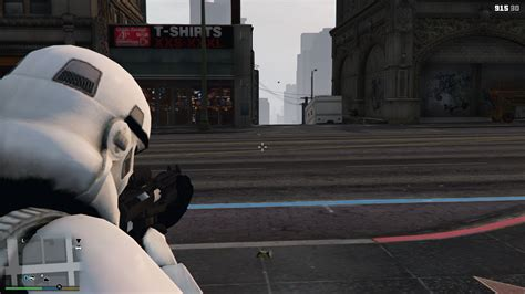 gta 5 starwars mod star wars e11 blaster rifle gta5 mods com