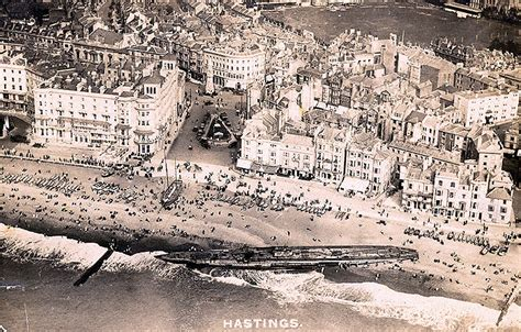the u boat number 118 washed ashore at hastings beach - U Boat Number 118