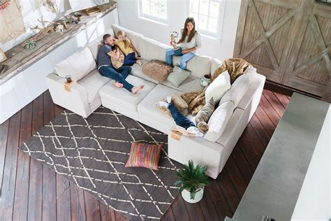 lovesac knock six media room sofas for your family by keith