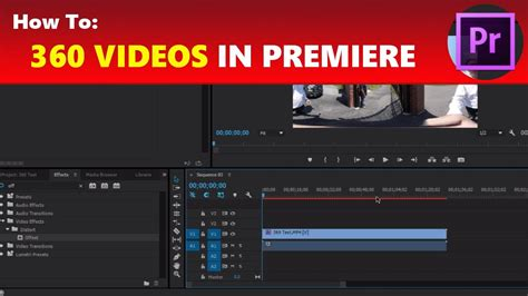 adobe premiere pro red line how to edit 360 videos in adobe premiere pro upload to