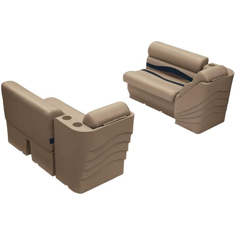 side boat seats wise deluxe rear or side group pontoon boat seat a style