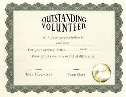 Volunteer Certificate Templates For Word by Other Free Certificate Templates Geographics