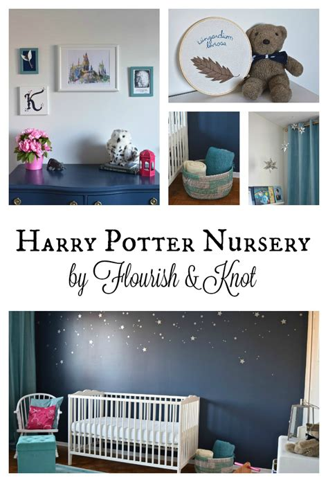 Our Harry Potter Nursery Finally Harry Potter Nursery Reveal One Room Challenge